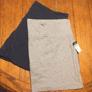 Bundle of gray mini skirts